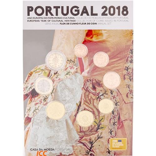 Portugal 2018 ANNUAL SERIES -  (FDC)