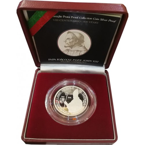 Portugal 5€ 2005 Pedro Hispano  (Proof)