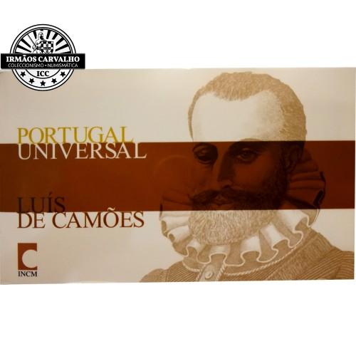 """Portugal 1/4€  2010 """"Luís de Camões"""""""