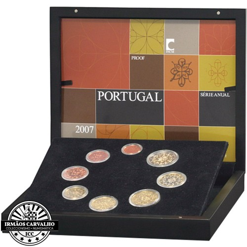 Portugal SÉRIE ANUAL 2007 - Proof