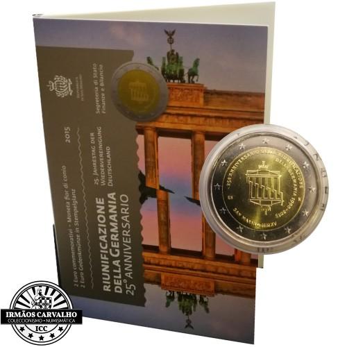 San Marino - 2€ 2015 (Unificação da Alemanha)