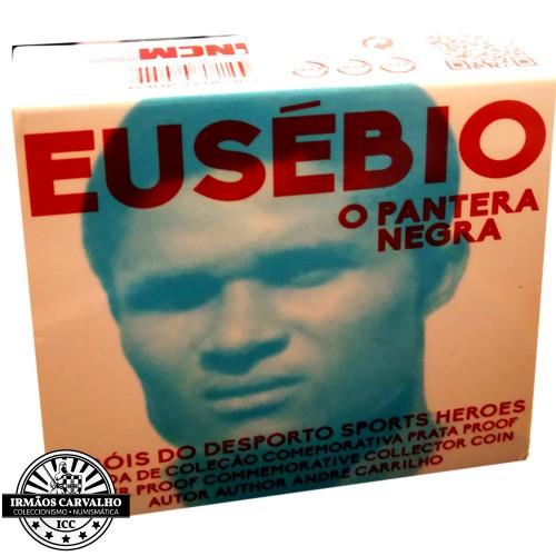 Portugal  - 7.50€  2016 EUSÉBIO (Prata Proof)