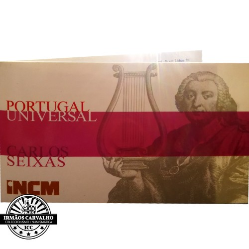 "Portugal 1/4€  2012 "" CARLOS SEIXAS "" Gold"