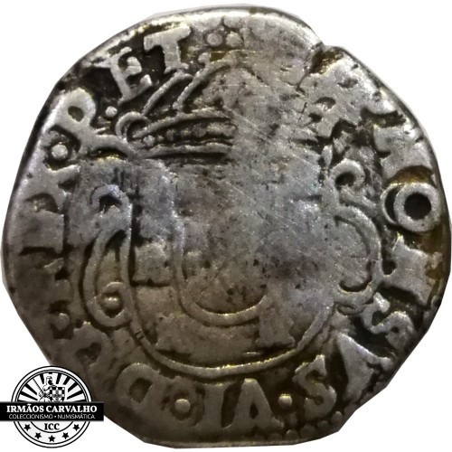 Alfonsus VI - Tostao or 100 Reis