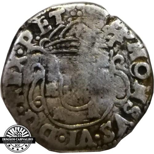 D. Afonso VI - Tostão 100 Réis