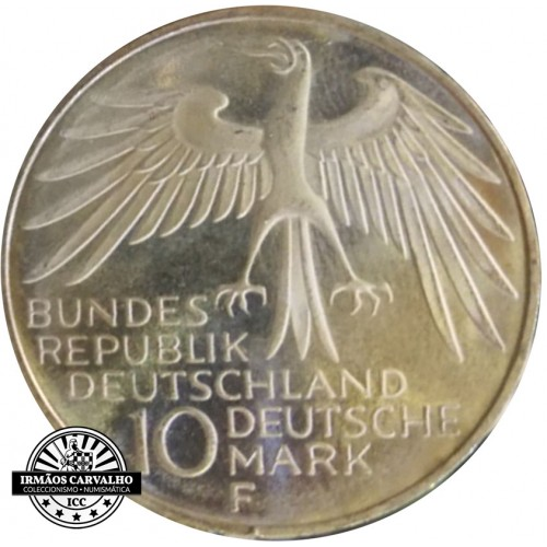 Alemanha 10 Marcos 1972 F