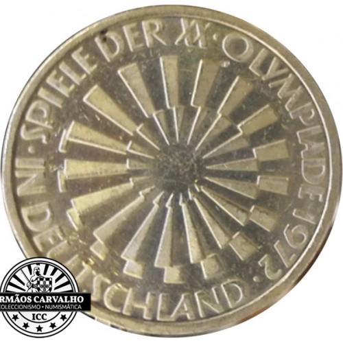 Alemanha 10 Marcos 1972 G