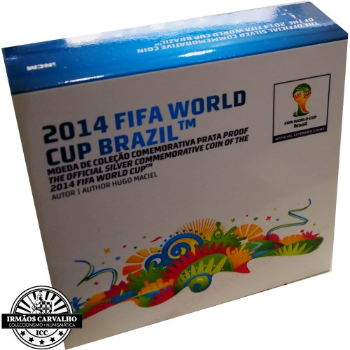 Portugal 2,50€ MUNDIAL FIFA 2014 - BRASIL  Proof