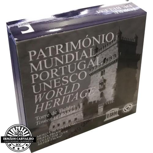 Portugal 2,50€ 2009 Torre de  Belém (Proof)