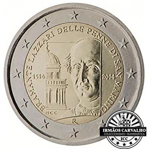 San Marino - 2€ 2014 (Bramante)