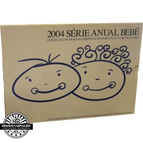 Portugal SÉRIE ANUAL 2004 - BEBÉ (FDC)