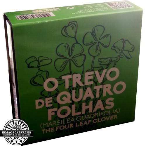 Portugal - 5€ 2018 O TREVO DE QUATRO FOLHAS (PRATA PROOF)
