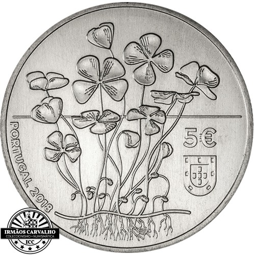 Portugal - 2018 5 Euro THE FOUR-LEAF CLOVER (Proof)
