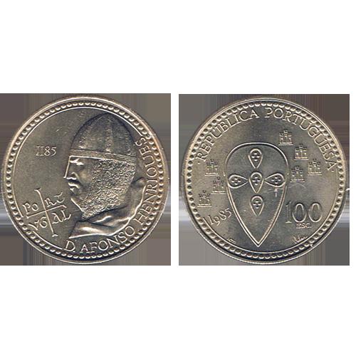 100$00 1985 (D. Afonso Henriques)