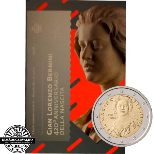 San Marino - 2€ 2018 (Gian Lorenzo Bernini)