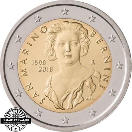 San Marino 2 euros  2018 Gian Lorenzo Bernini