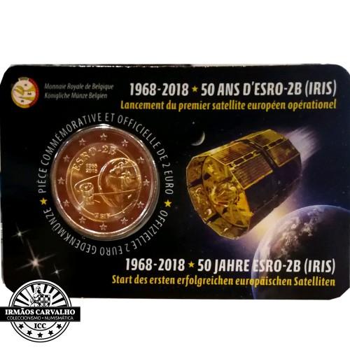 Belgium - 2 Euro 2018 (Iris Satellite )