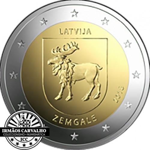 Latvia 2€ 2018  (Zemgale)