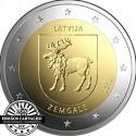 Letónia 2€ 2018  (Zemgale)