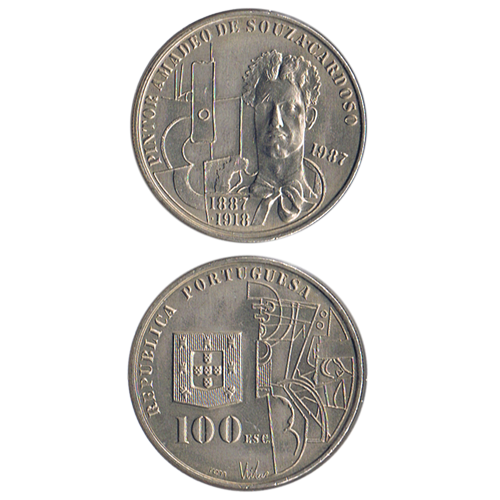 100$00 1987 (Amadeo s. Cardoso)