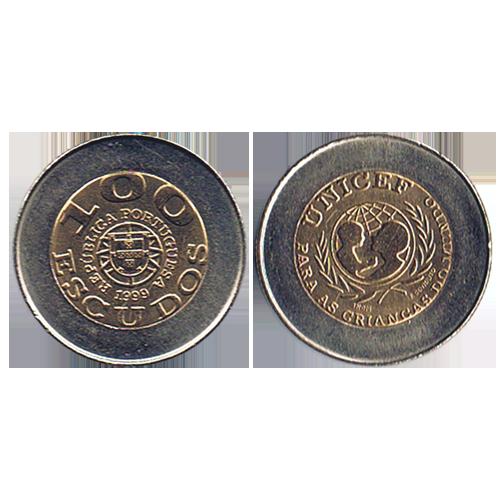 100$00 1999 (Unicef - Portuguesa)