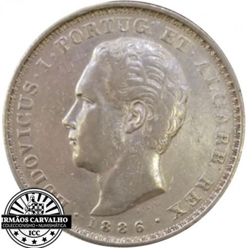 D. Luís I - 500 Reis 1886