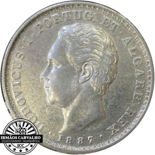 D. Luís I - 500 Reis 1887
