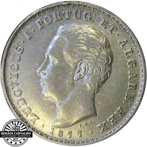 D. Luís I - 500 Reis 1877