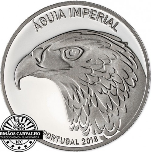 Portugal - 5€ 2018 A Águia Imperial  (PRATA PROOF)