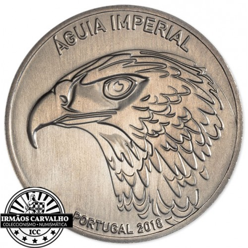 Portugal  - 5.00€ Imperial Eagle 2018
