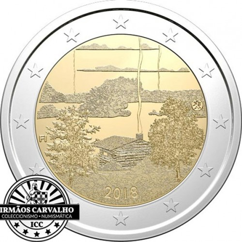 Finland 2€ 2018 (Finnish Sauna)