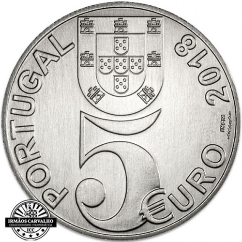Portugal - 2018 5 Euro 100years of the  Armistice