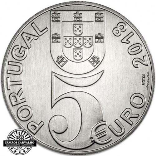 Portugal - 5€ 2018 100 Anos do Armistício