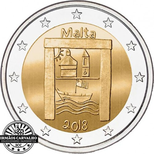 Malta2€ 2018 Cultural Heritage