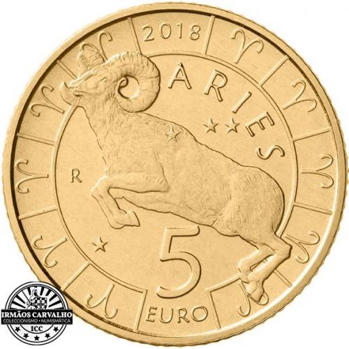 San Marino - 5€ 2018 (Signo Carneiro)