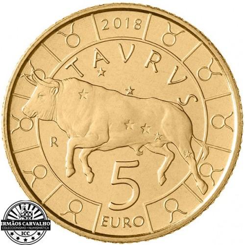 San Marino - 5€ 2018 (Taurus Zodiac)