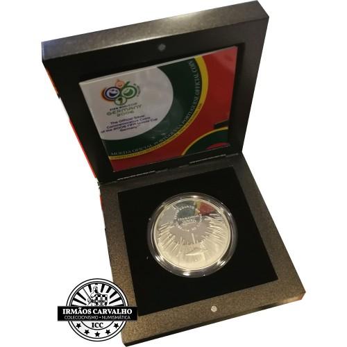 10€ 2006 C. M. de Futebol (Prata Proof)