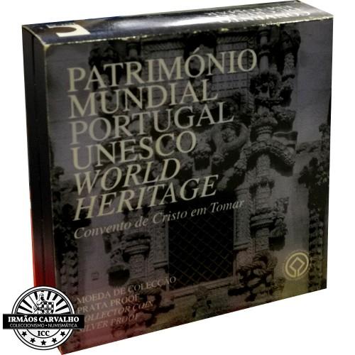 Portugal 5€ 2004 (Convento de Cristo Tomar) Proof