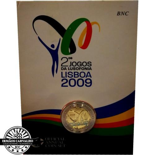 Portugal 2€ Proof 2009 (Bu)