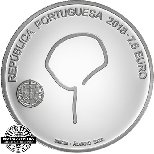 Moeda 7.5€ 2018 Álvaro Souto Moura