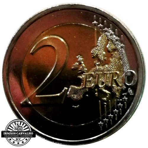 Luxembourg 2€ 2018 Constitution of Luxembourg