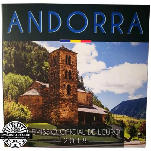 Andorra - 8 Coins (2018 BU Set )