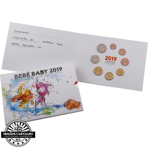 Portugal 2019 ANNUAL SERIES - BABY SET (FDC)