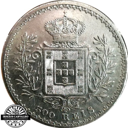 D. Carlos I 500 Reis 1895