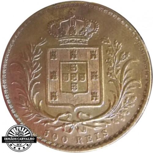D. Luís I 500 Reis 1864