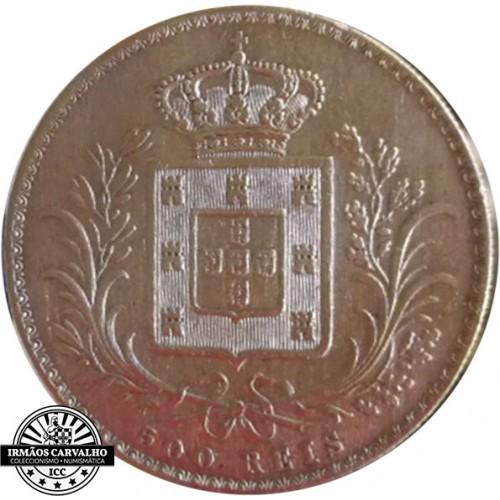 D. Luís I 500 Reis 1868