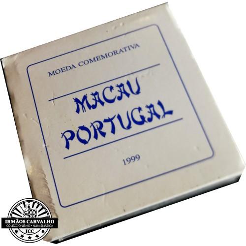 Proof 500$00 Macau ( Set 2 Moedas ) 1999