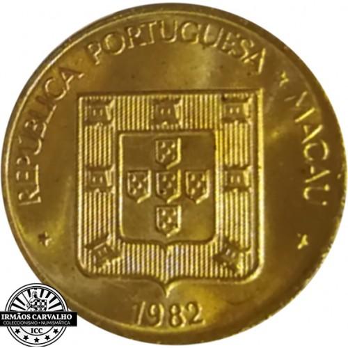 Macao 50 Avos 1982