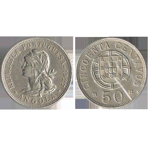 Angola 50 Centavos 1927