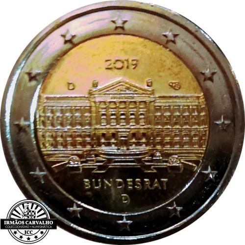 "Alemanha 2€ 2019 ""Bundesrat"""